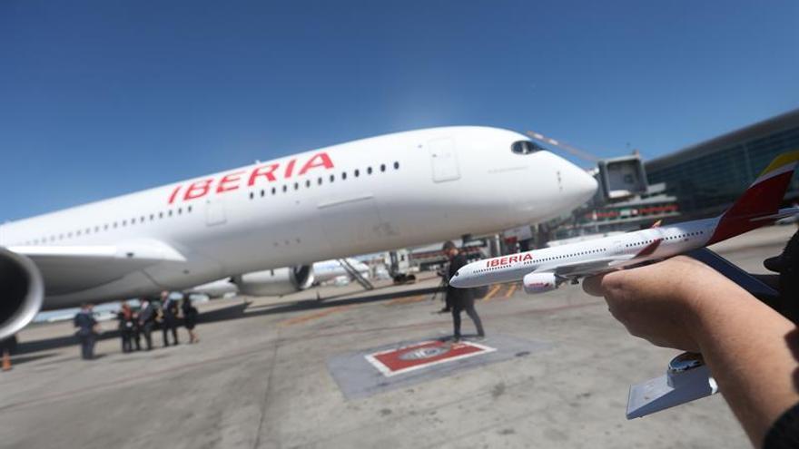 Iberia cancela su vuelo de este lunes a Caracas por los cortes eléctricos