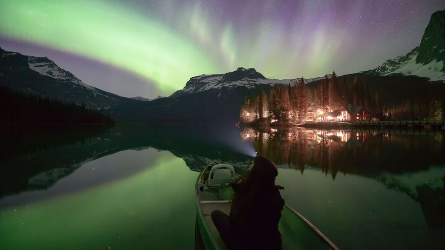 Consejos para fotografiar auroras boreales.