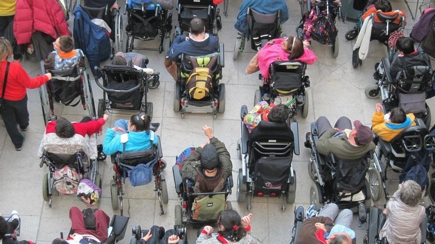 La tasa de actividad de las personas con discapacidad en Cantabria es inferior a la media