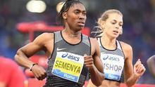 Caster Semenya en el mitin de Roma 2016 / IAAF.