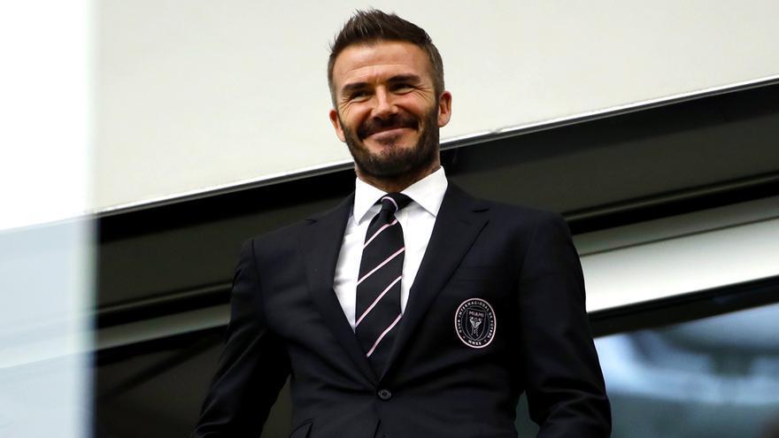 David Beckham en una imagen de archivo