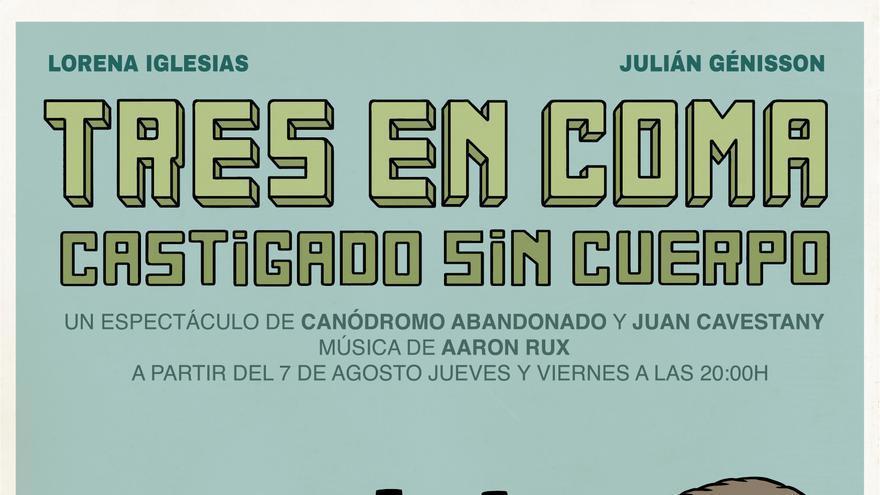 'Tres en  coma', un espectáculo de Canódromo abandonado y Juan Cavestany