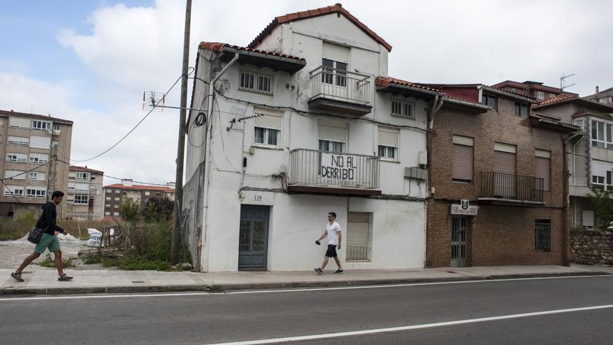 Una constructora ha comprado la mayor parte de los terrenos de El Pilón en los últimos años.   Joaquín Gómez Sastre
