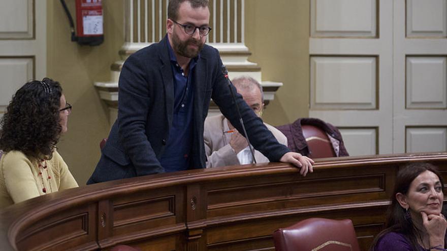 Juan Márquez, diputado de Podemos en el Parlamento de Canarias
