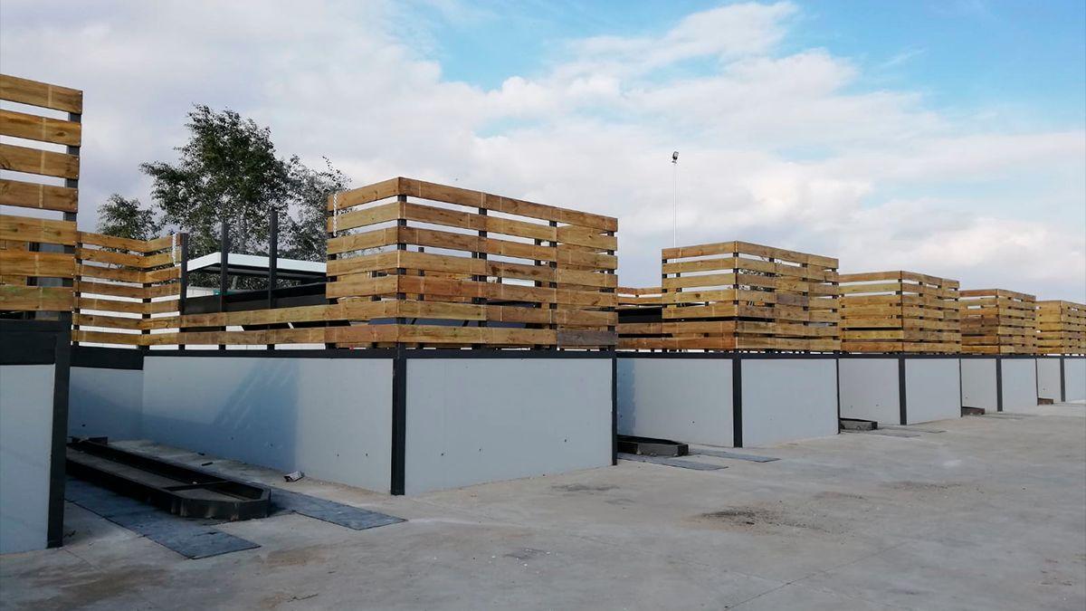 Instalaciones del ecoparque de Sadeco en Villarrubia.