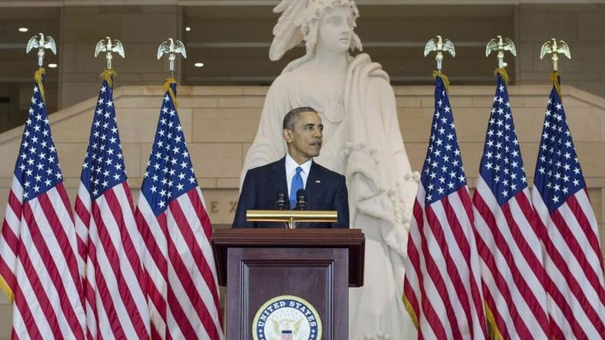 Obama pedirá en su presupuesto doblar los fondos para las energías limpias hasta 2020