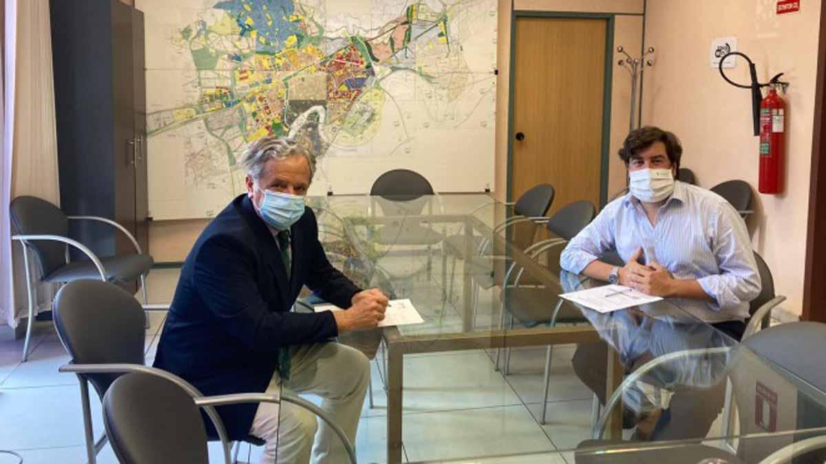 Reunión entre el Ayuntamiento y el Córdoba