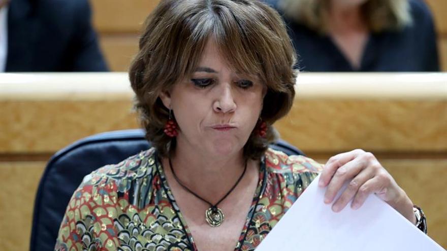 Delgado: El Gobierno jamás ha presionado al poder judicial a favor de los presos
