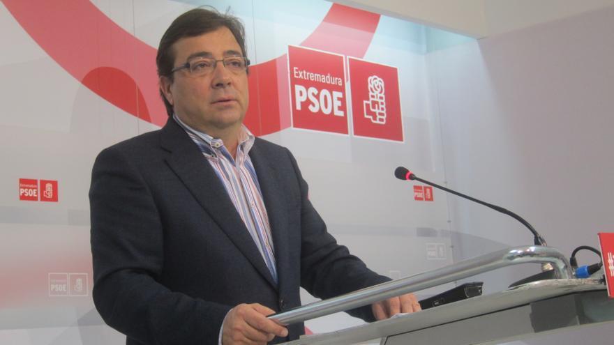 """Vara se presentará a unas """"primarias abiertas"""" del PSOE en Extremadura que propone para el segundo semestre de 2014"""
