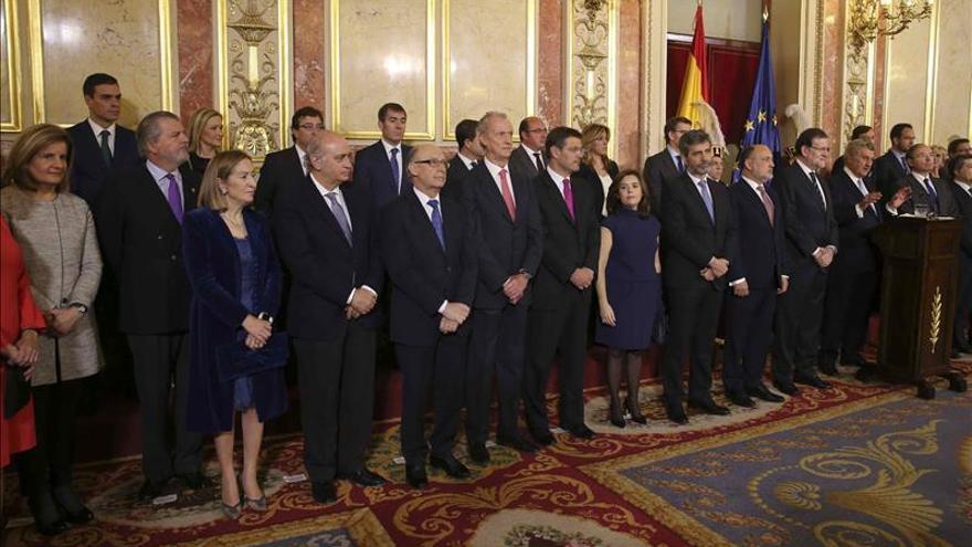 """Rajoy admite que """"está abierto"""" quién será el segundo partido el 20D"""