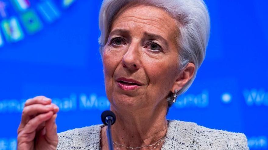 """Lagarde no ve la necesidad de una """"intervención estatal"""" en Deutsche Bank"""