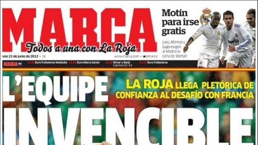 De las portadas del día (21/06/2012) #13