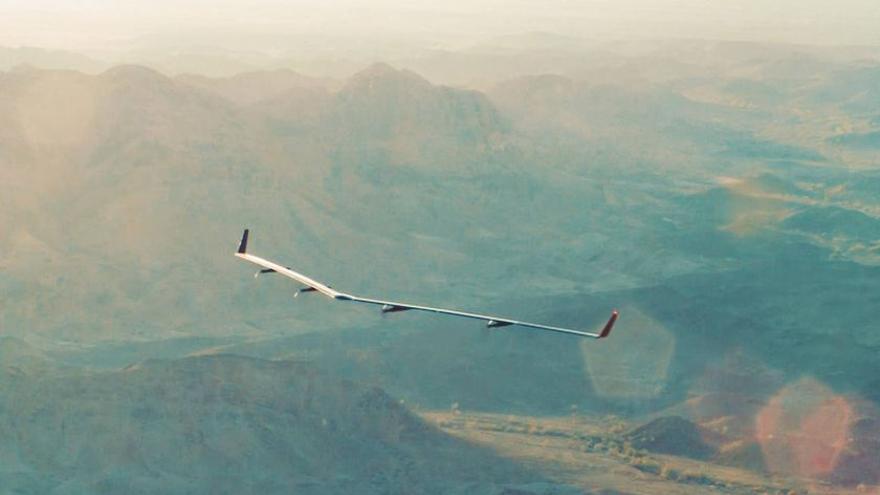 El dron Aquila