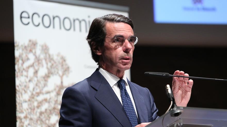 """Aznar pide mantener vivo el legado del exministro israelí Shimon Peres, un """"estadista histórico"""""""
