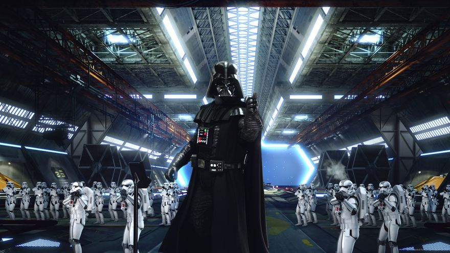 Darth Vader y su ejército