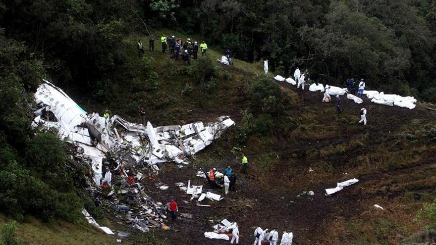 La Conmebol niega relación con la compañía del avión accidentado en Colombia
