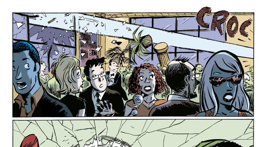 Viñeta del cómic 'El vecino'
