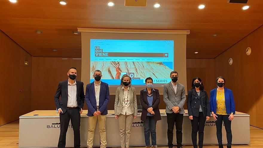 Presentación en Pamplona del festival 'Lo que viene'.