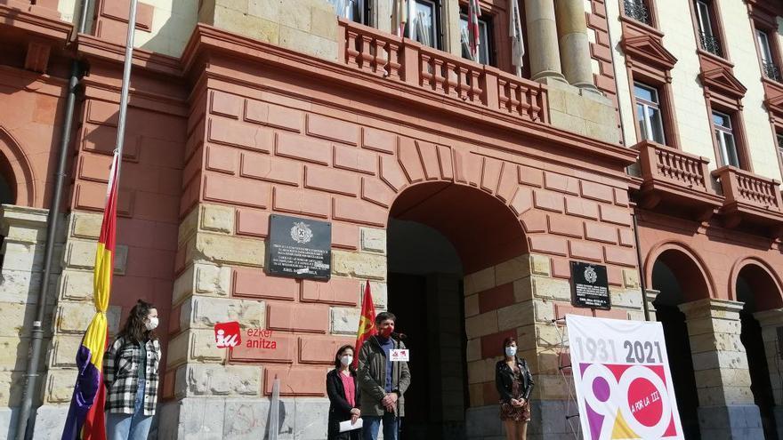 Acto de Ezker Anitza-IU en Eibar