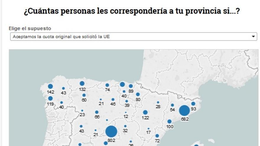 Mapa refugiados