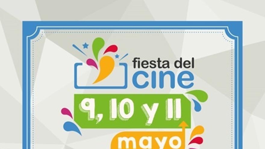 La Fiesta del Cine celebra su décima edición los próximos 9, 10 y 11 de mayo, con entradas a 2,90 euros