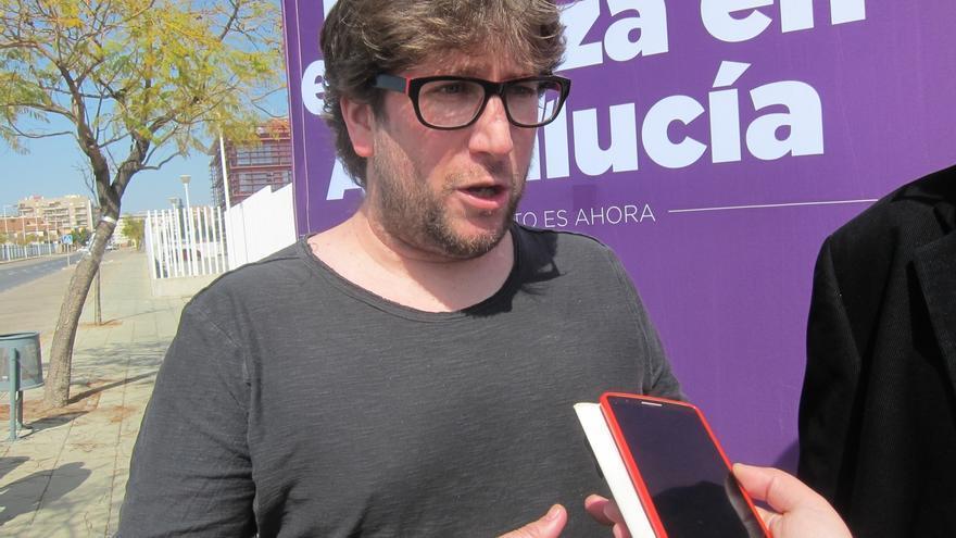 Urbán (Podemos) pide perdón y hace un llamamiento a la calma y la cordura para los dirigentes de Podemos