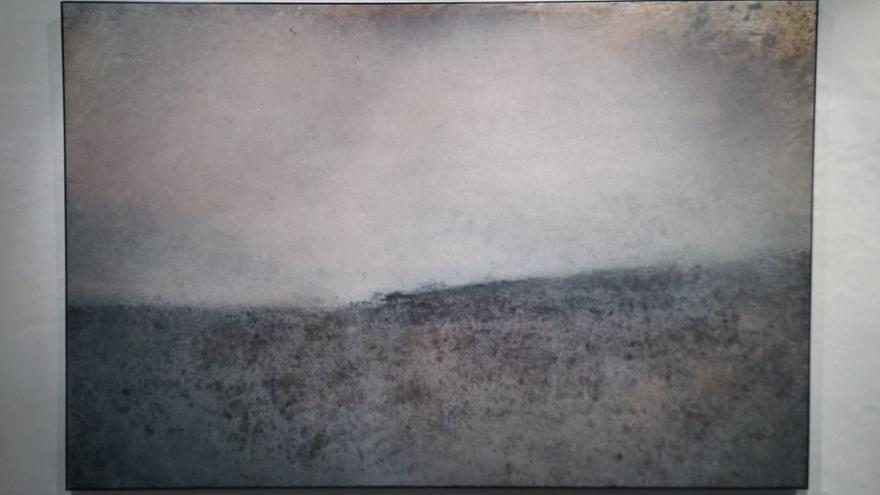 Una de las piezas mostradas en la exposición
