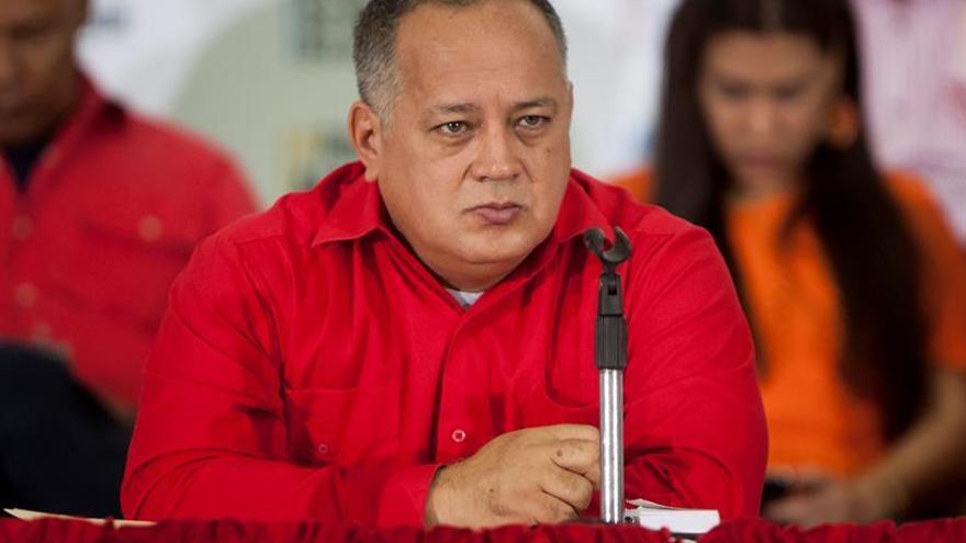 """Cabello denuncia un plan de """"masacre"""" para """"encubrir"""" una fuga de Leopoldo López"""