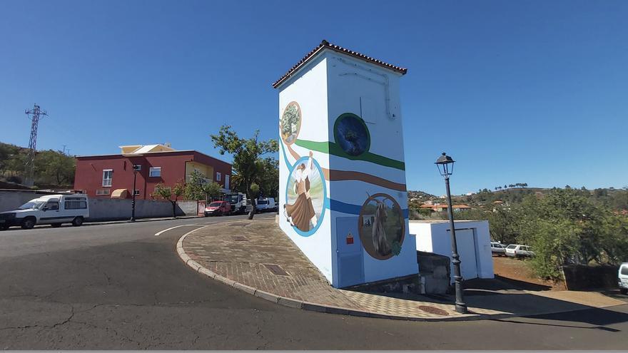 Mejoras en el centro de transformación eléctrica El Pinar, en Puntagorda