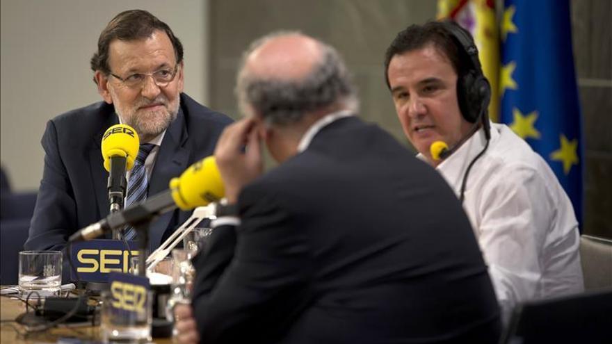 """Rajoy: """"Pedro Sánchez y yo estamos de acuerdo en la unidad de España"""""""