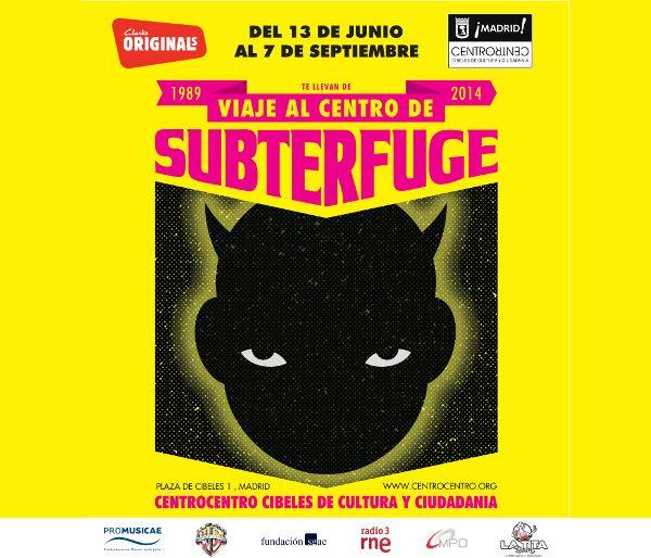 """Exposición """"Viaje al Centro de Subterfuge"""""""