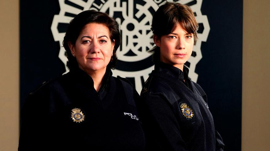 Luisa Martín y Andrea del Río, pareja protagonista de 'Servir y proteger'