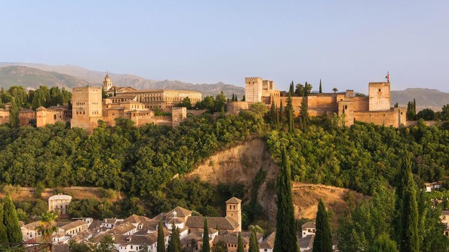 Ángel Ganivet planteó una Granada destruida por un volcán en el siglo XIX (Imagen: VisualHunt)