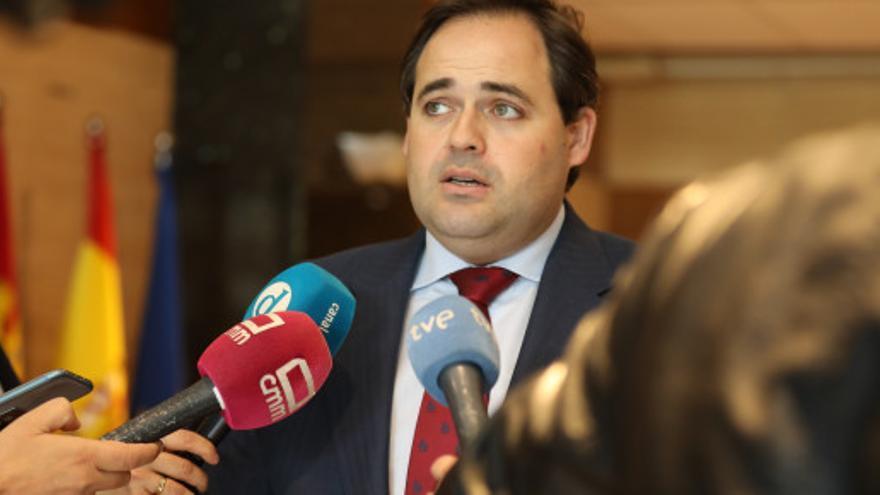 Francisco Núñez en las Cortes regionales FOTO: PP CLM
