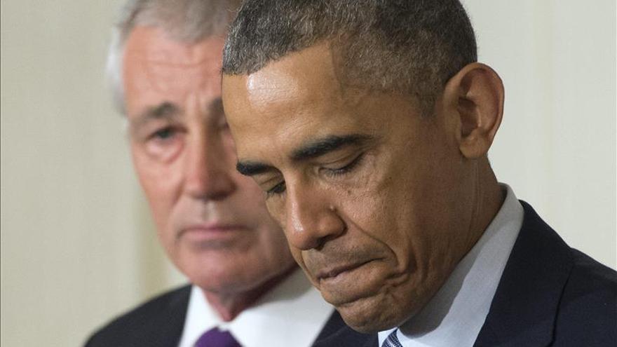 La salida de Hagel del Pentágono deja a Obama un vacío difícil de cubrir