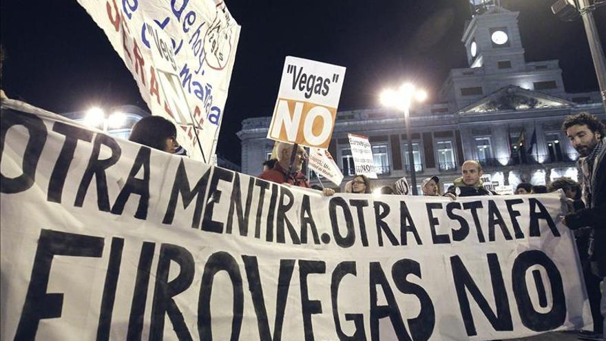 Eurovegas No protesta con cacerolas en Sol tras la elección de Alcorcón