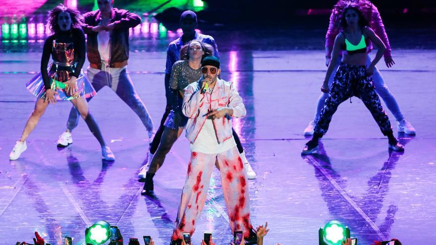 """El """"streaming"""" dio a Bad Bunny el disco de mayor éxito en España en 2020"""