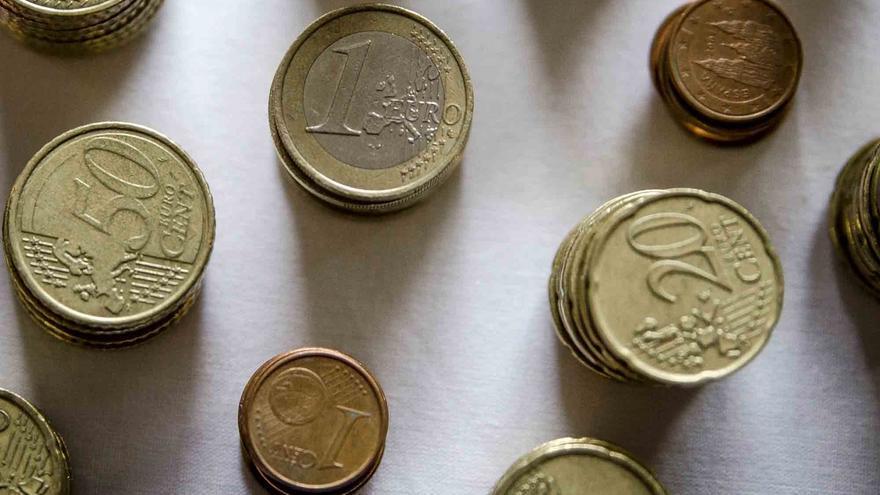 Monedas en una imagen de archivo.
