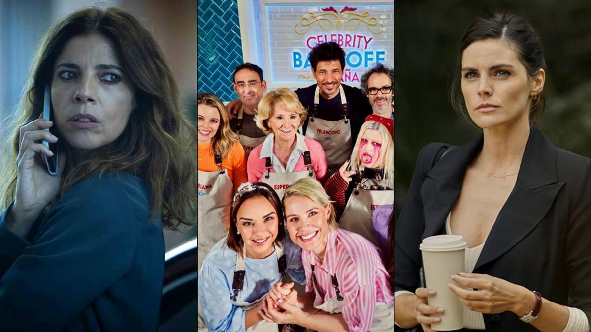 'Ana Tramel', 'Celebrity Bake Off' y 'Todos mienten'
