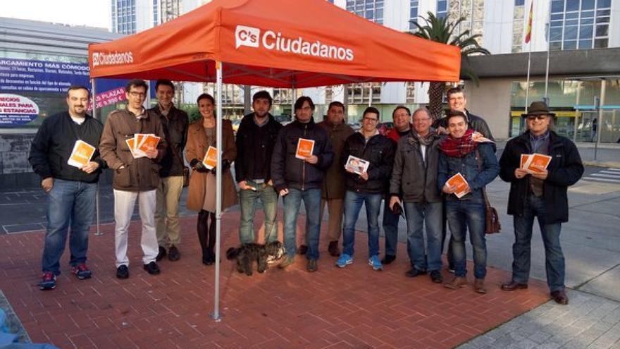 Acto electoral de Ciudadanos en A Coruña, este viernes