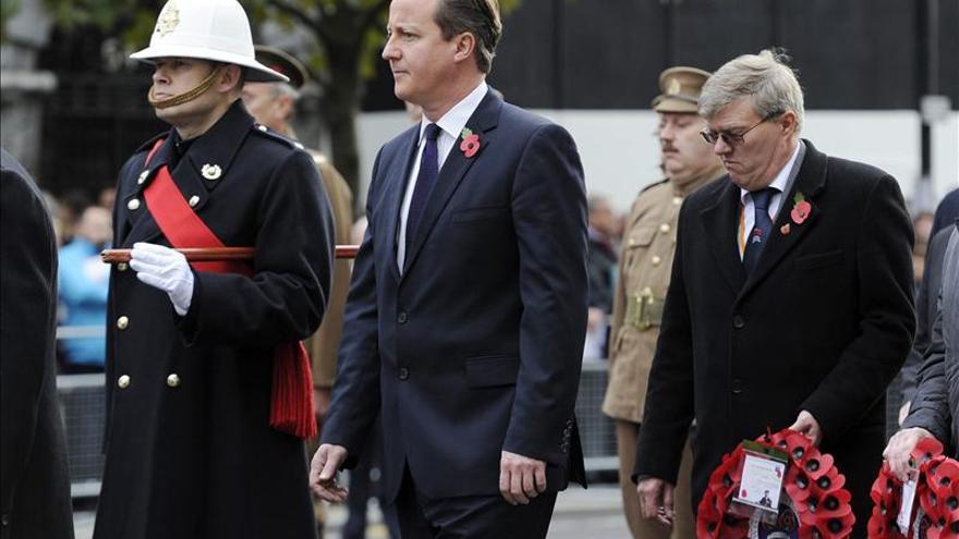El Reino Unido recuerda a los caídos en la I Guerra Mundial