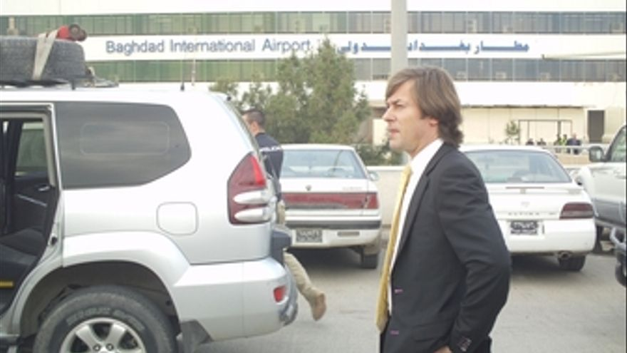 El juez Pedraz a su llegada a Bagdad