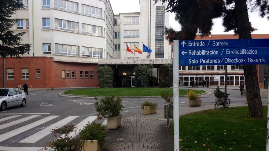 El antiguo Hospital de Navarra, ahora integrado en el CHN.