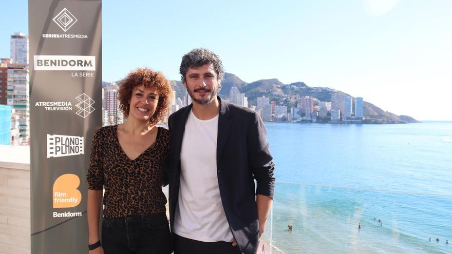 María Almudéver y Antonio Pagudo  en la presentación