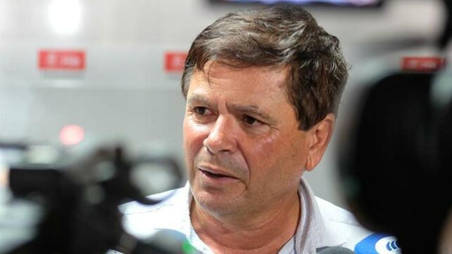 Pedro de Armas, nuevo alcalde de Pájara. EFE/CARLOS DE SAÁ