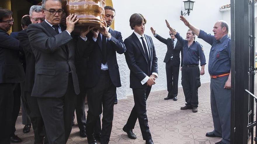 La Junta pide al Gobierno que actúe por la exaltación franquista en el entierro de Utrera Molina