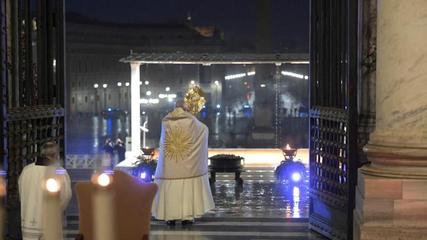 El papa se une al llamamiento de la ONU para un alto al fuego global