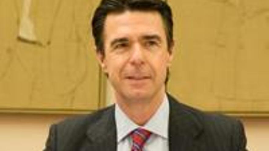José Manuel Soria, en la Comisión de Industria.