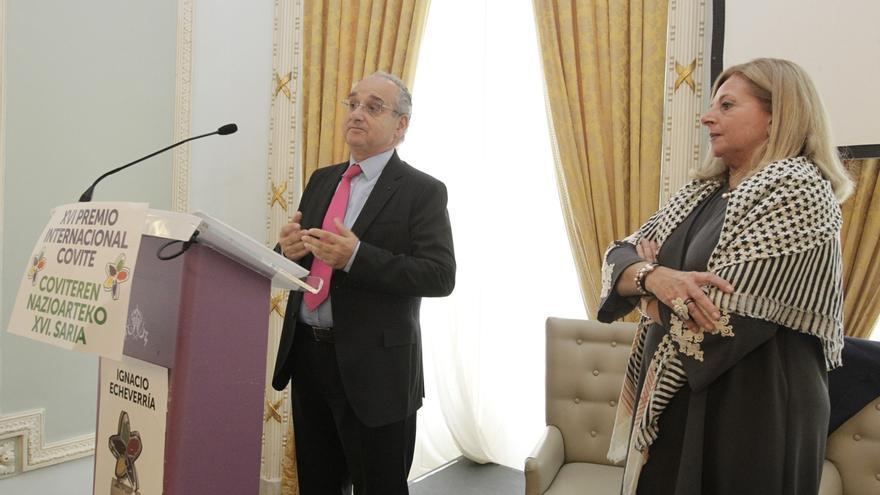 """Covite cree que Ignacio Echeverria """"nos salvó a todos"""" y que, de haber vivido en Euskadi, sería """"un resistente"""""""