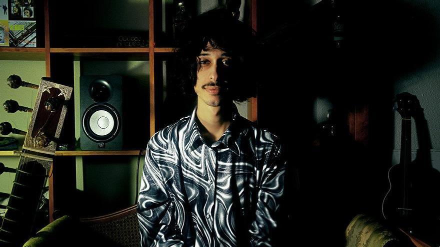 Alberto García 'Aitite' lidera la banda murciana Alien Tango.